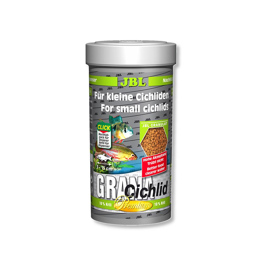 Корм для рыб JBL Grana Cichlid 250 мл