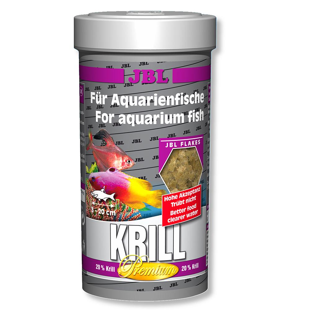 Корм JBL для морских рыб Krill 250мл с крилем
