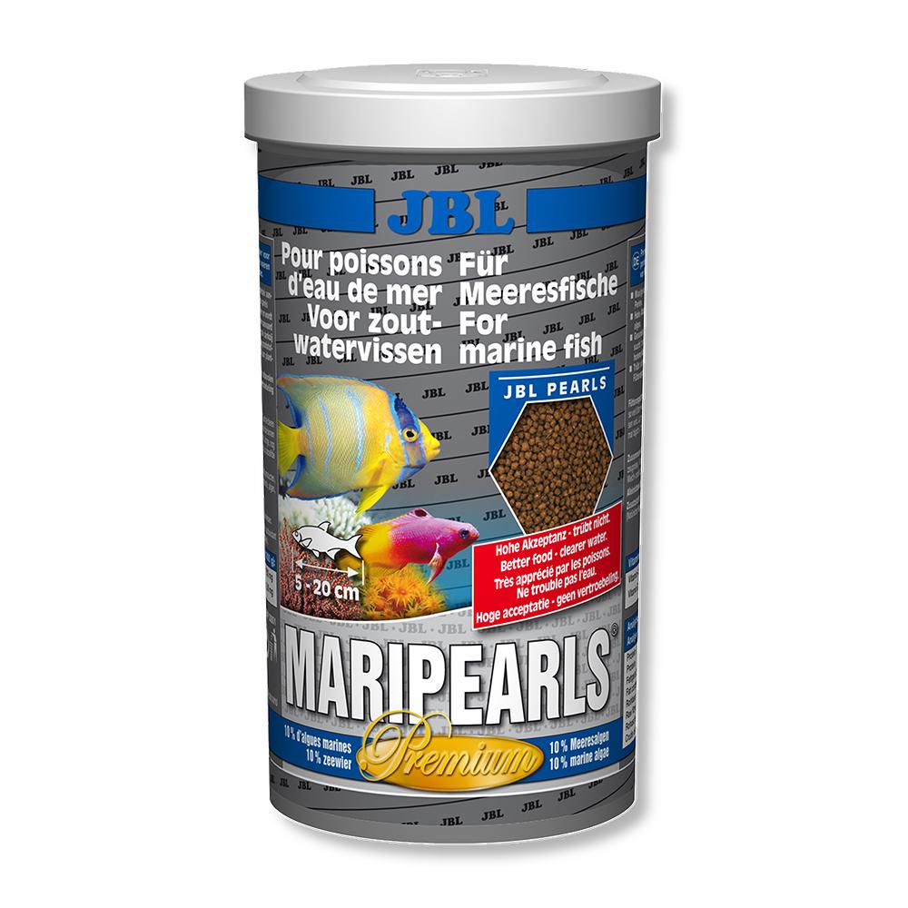 Корм для морских рыб JBL MariPearls, 1000 мл (520 г)