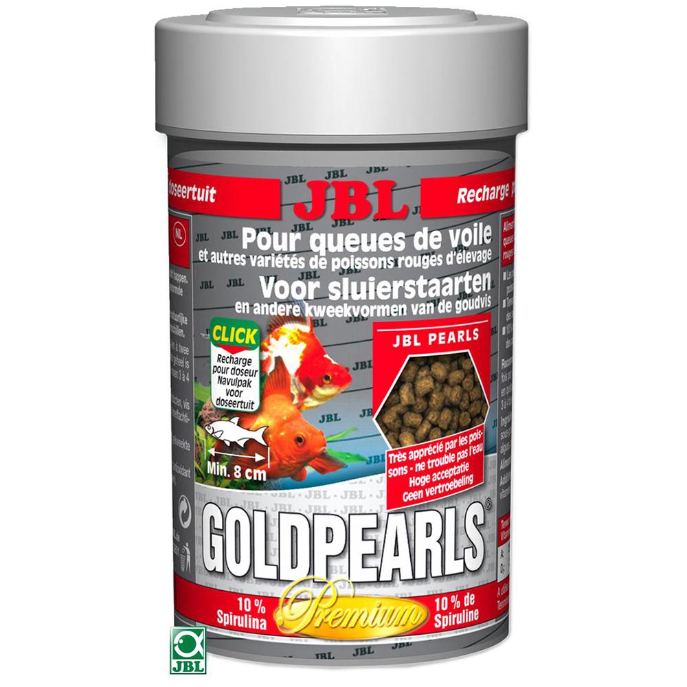 Корм для рыб JBL GoldPearls 100 мл (50 г)