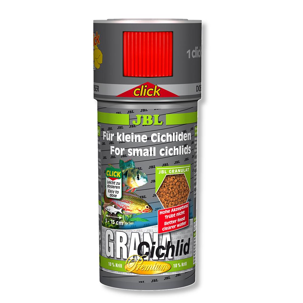Корм для рыб JBL Grana Cichlid 100 мл (45 г) с дозатором