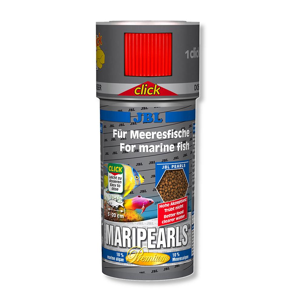Корм для морских рыб JBL MariPearls, 250 мл (105 г) с дозатором