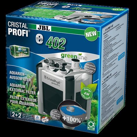 Фильтр внешний JBL CristalProfi Е402 greenline + для аквариума 40-120 л