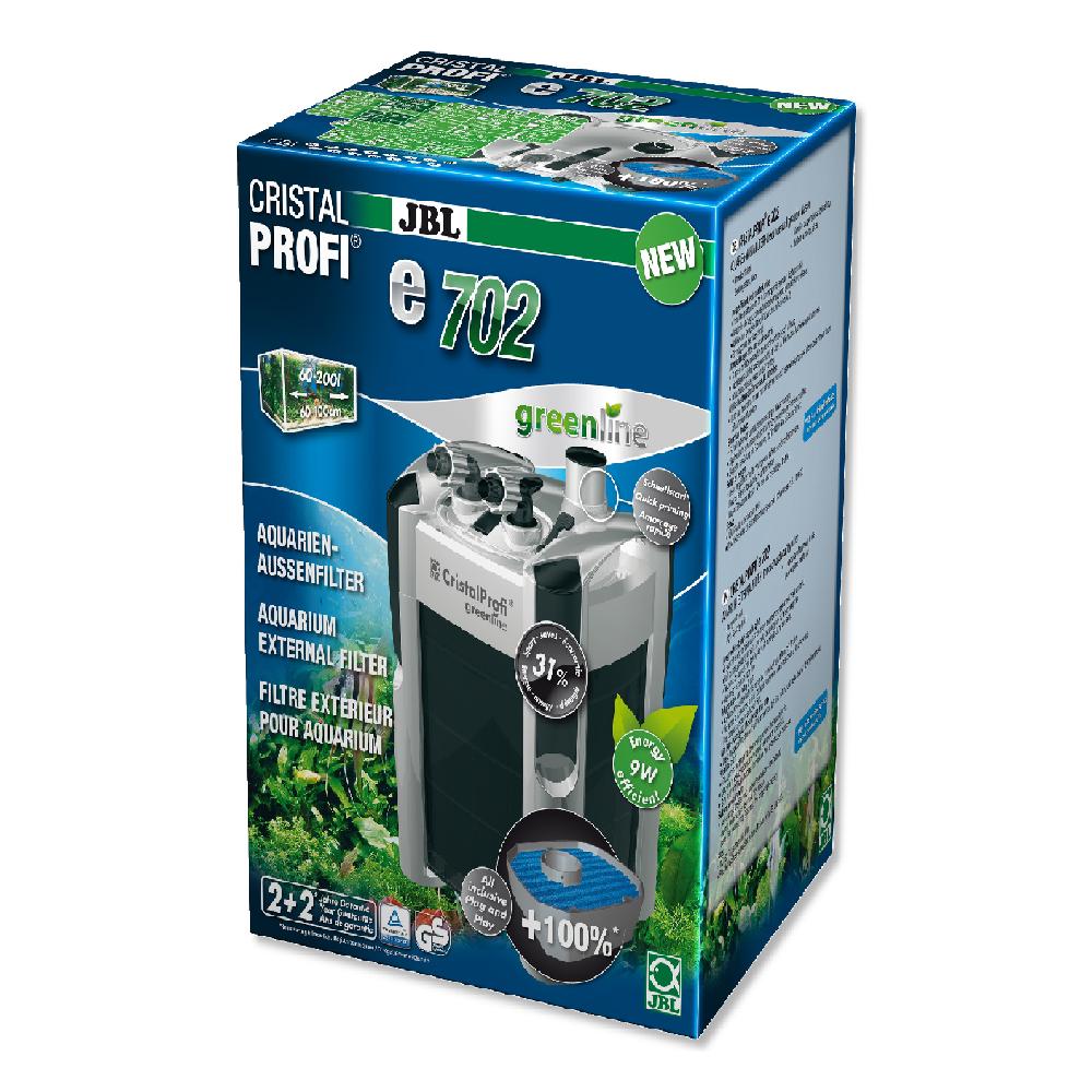 Фильтр внешний JBL CristalProfi Е702 greenline + для аквариума 60-200 л