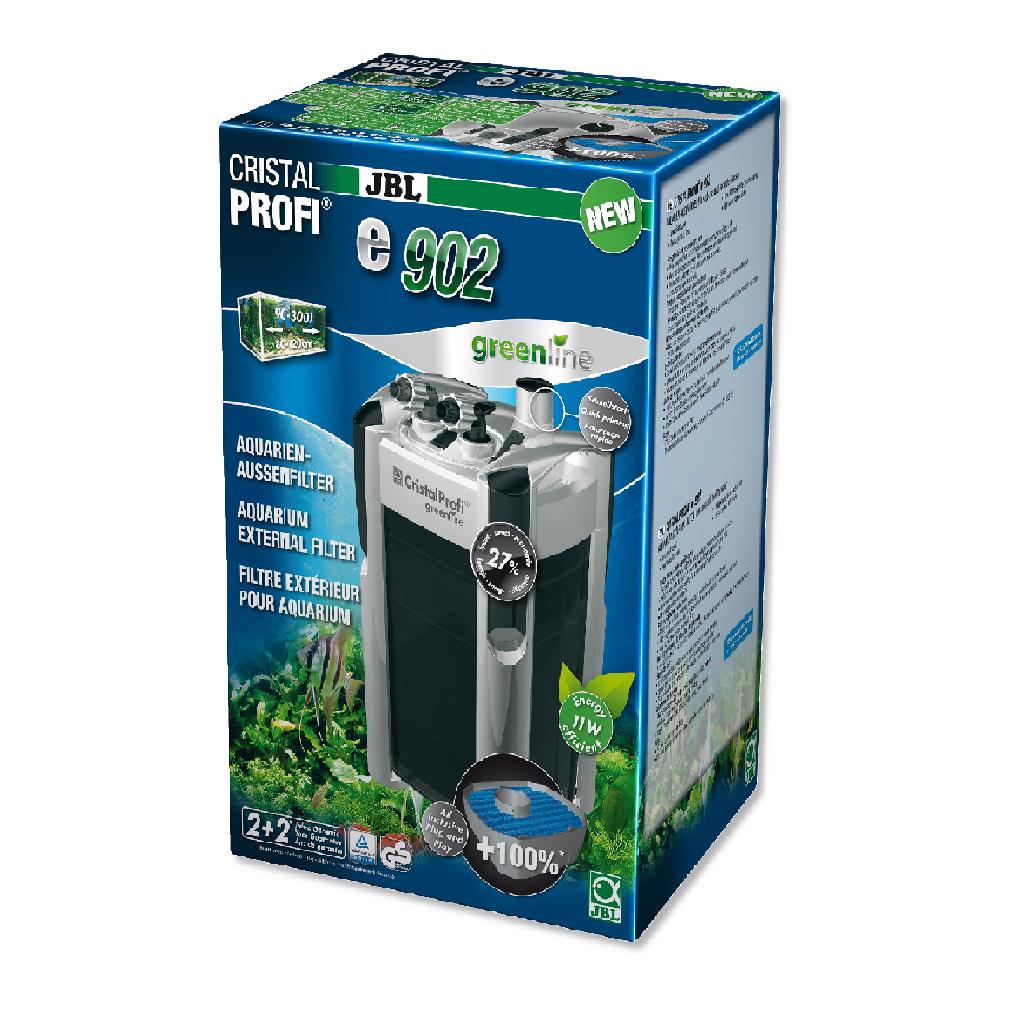 Фильтр внешний JBL CristalProfi Е902 greenline + для аквариума 90-200 л