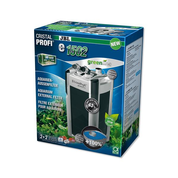 Фильтр внешний JBL CristalProfi Е1502 greenline + для аквариума 200-700 л.