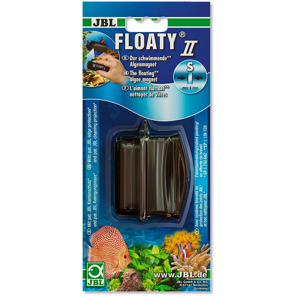 Скребок магнитный JBL Floaty S плавающий для стекол толщиной до 6мм