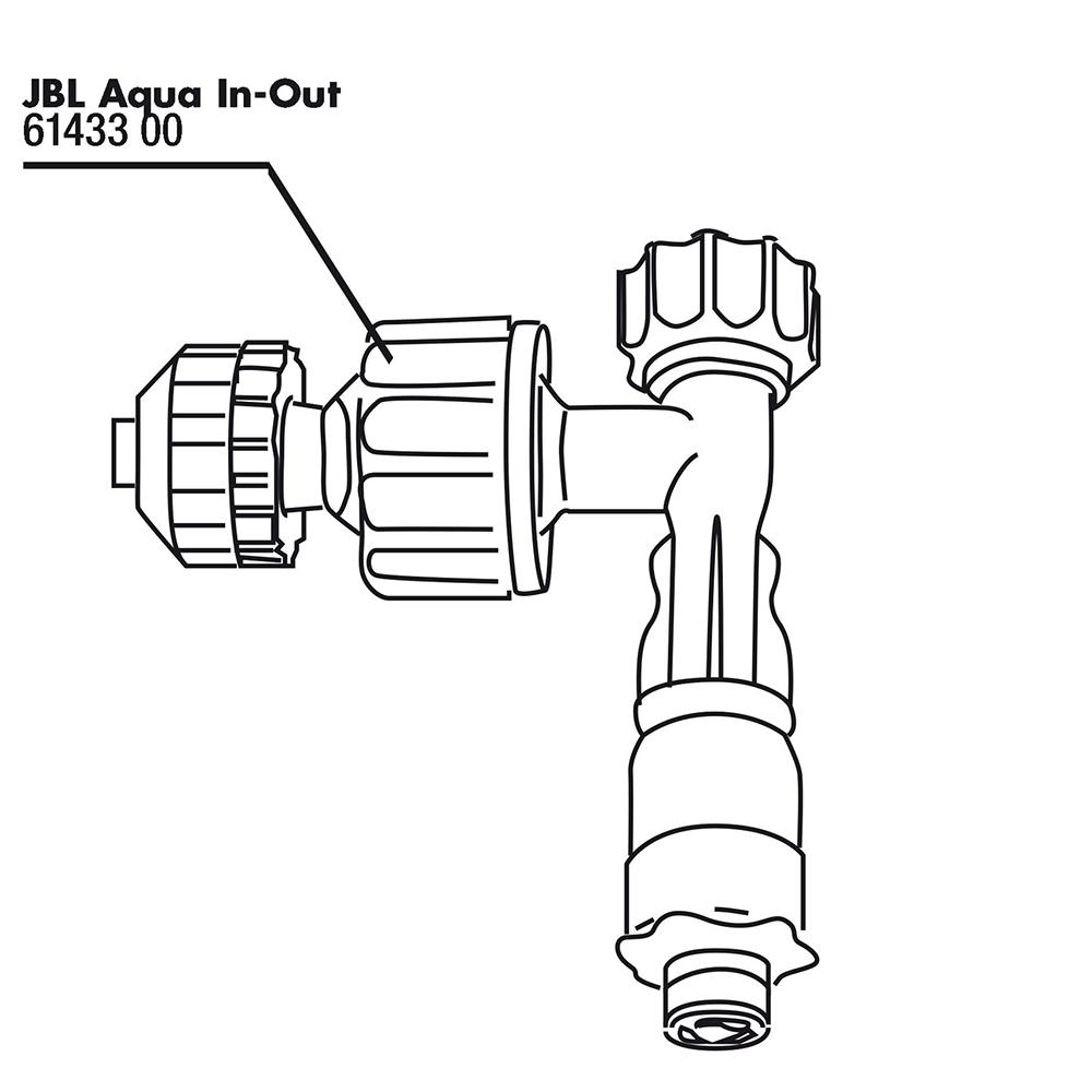Насадка JBL для системыAqua In-Out Komplett-Set