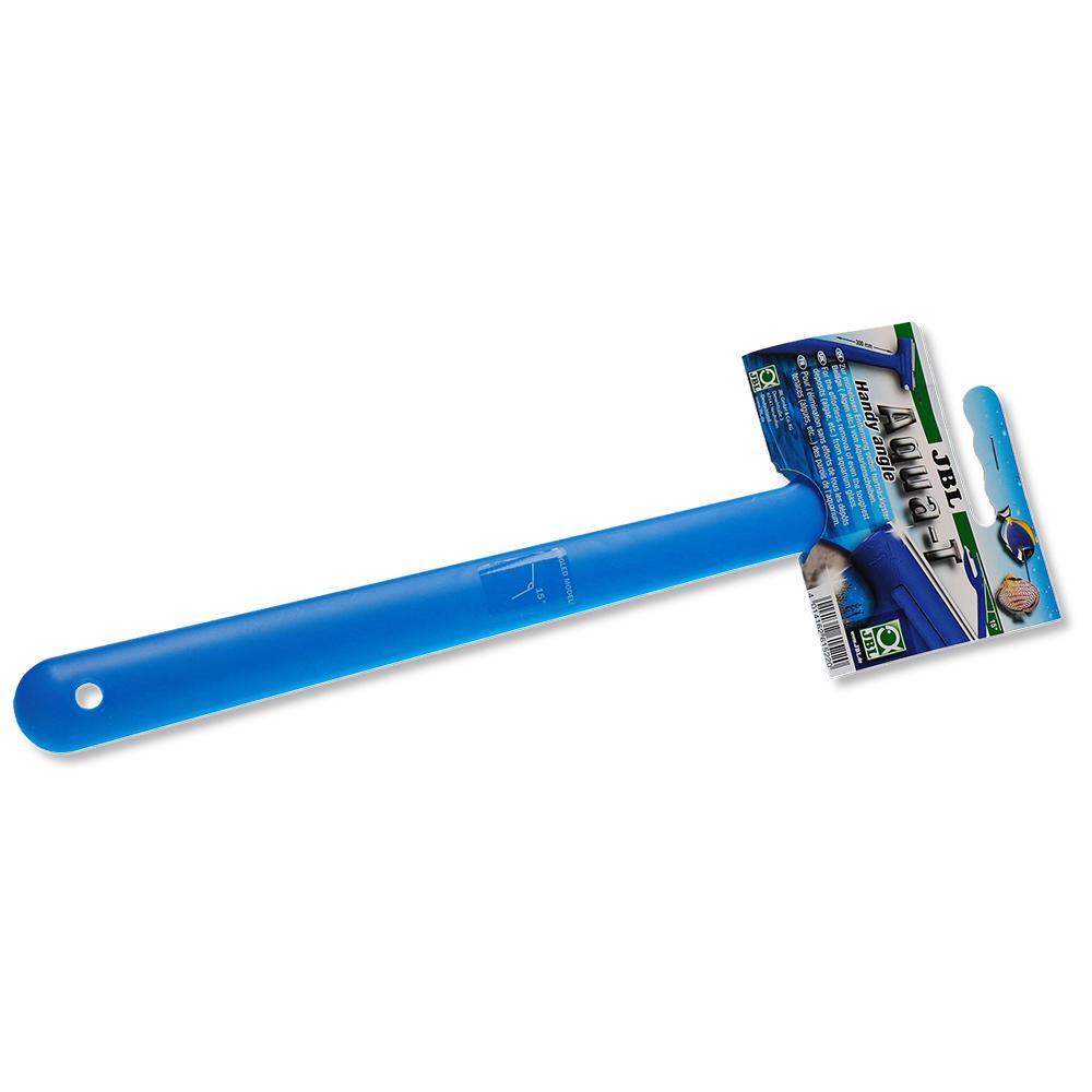 Скребок JBL с ручкой 30 см и наклонённым лезвием шириной 70 мм