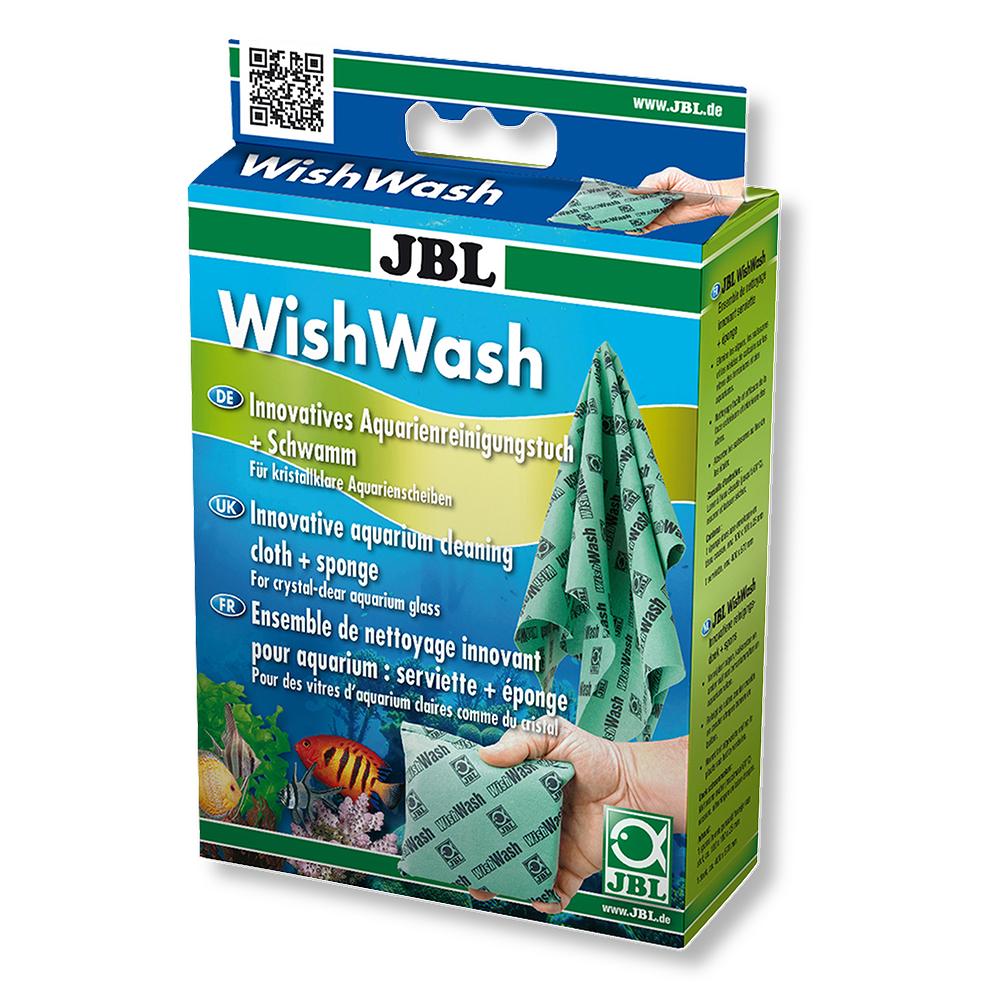Набор JBL для ухода за аквариумом (губка и салфетка)