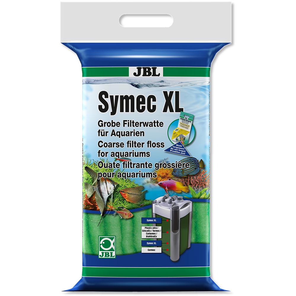 Наполнитель JBL Symec XL Filterwatte grun - Синтепон грубой очистки зеленый, 250 г
