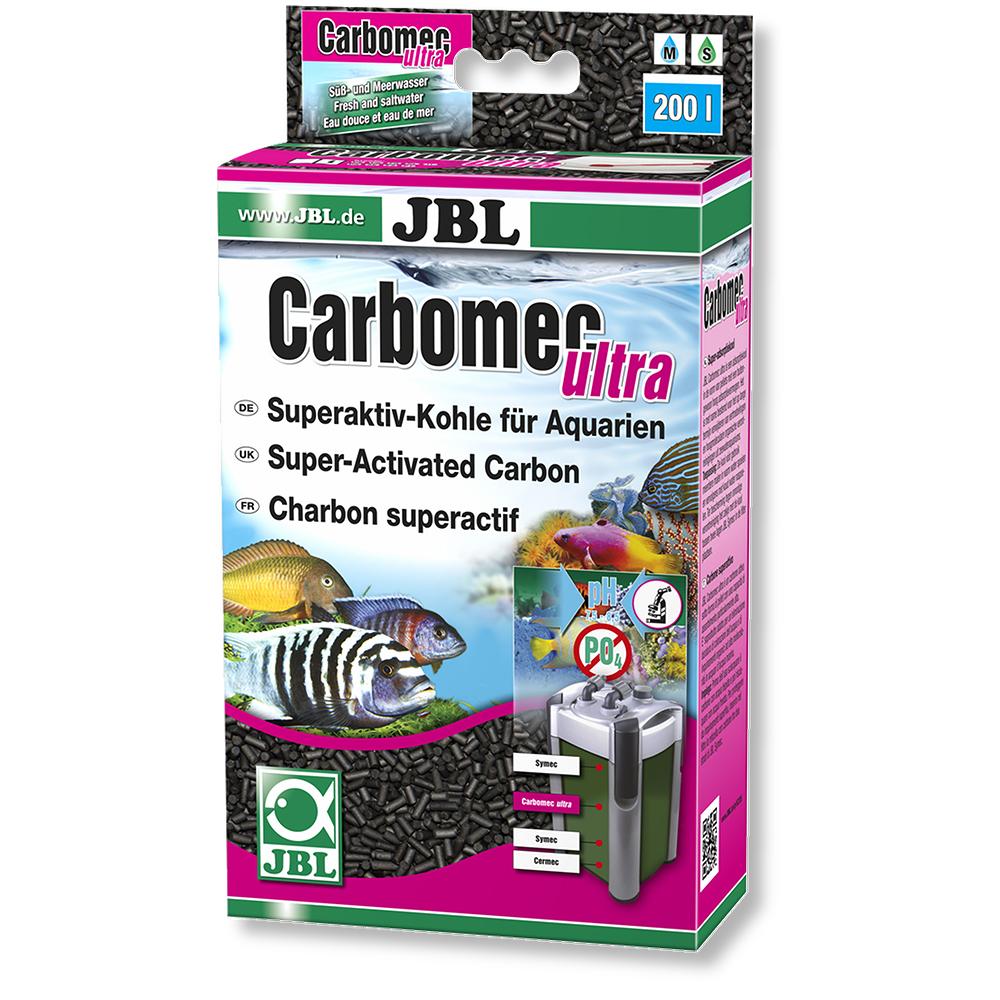 Уголь JBL Carbomec ultra сверхактивированный с мешком 400 г для морской воды