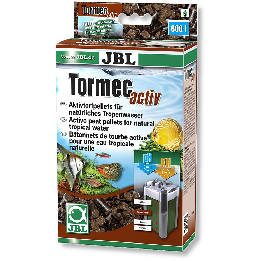 Наполнитель JBL Tormec Activ гранулы торфа 1000 мл
