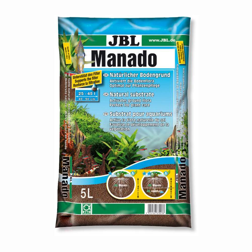 Грунт питательный JBL Manado 5 литров