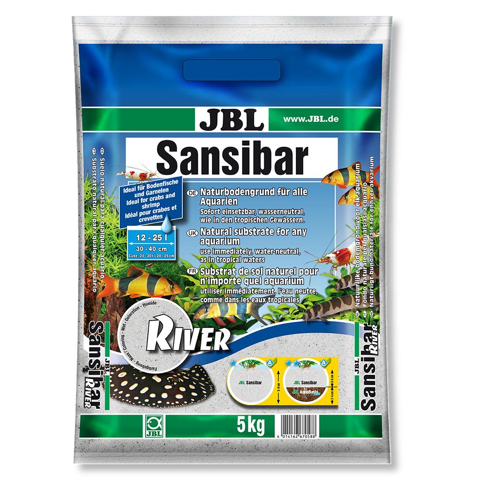 Грунт JBL Sansibar RIVER   5 кг светлый мелкий