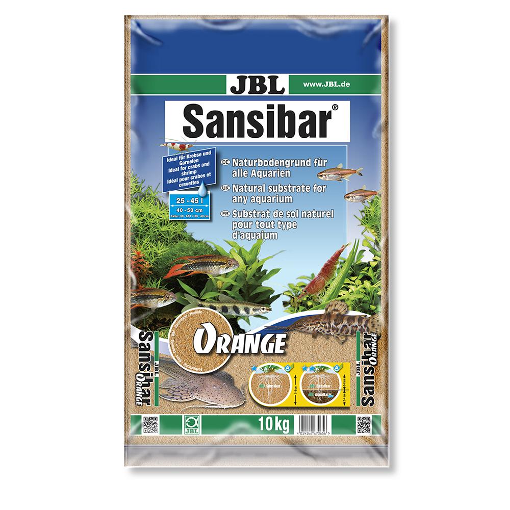 Грунт JBL Sansibar ORANGE оранжевый  10 кг