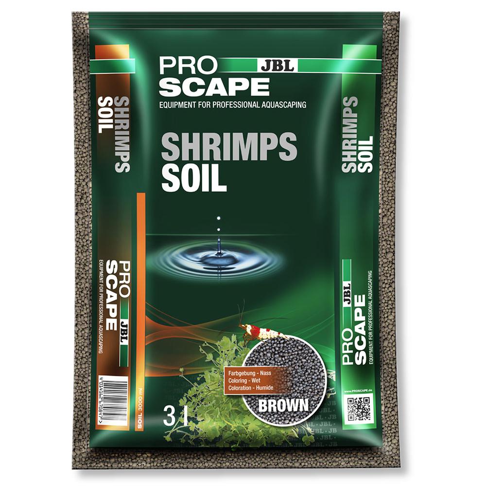 Грунт питательный JBL ProScape ShrimpSoil Brown 3 л