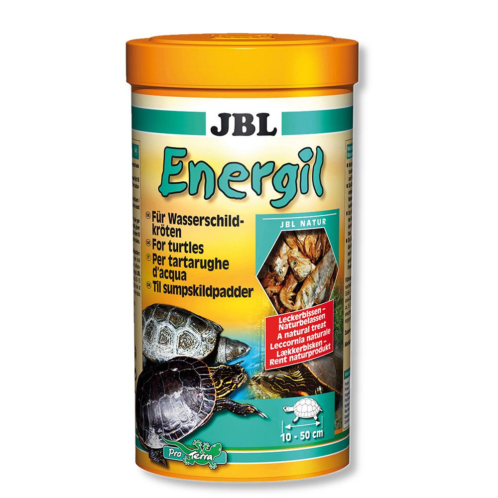Корм для черепах JBL Energil высушенные рыбы и рачки 1 л