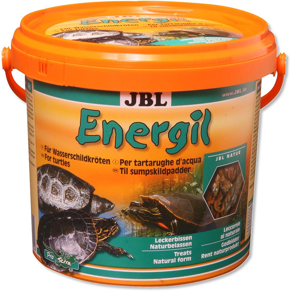 Корм для черепах JBL Energil высушенные рыбы и рачки 2,5 л