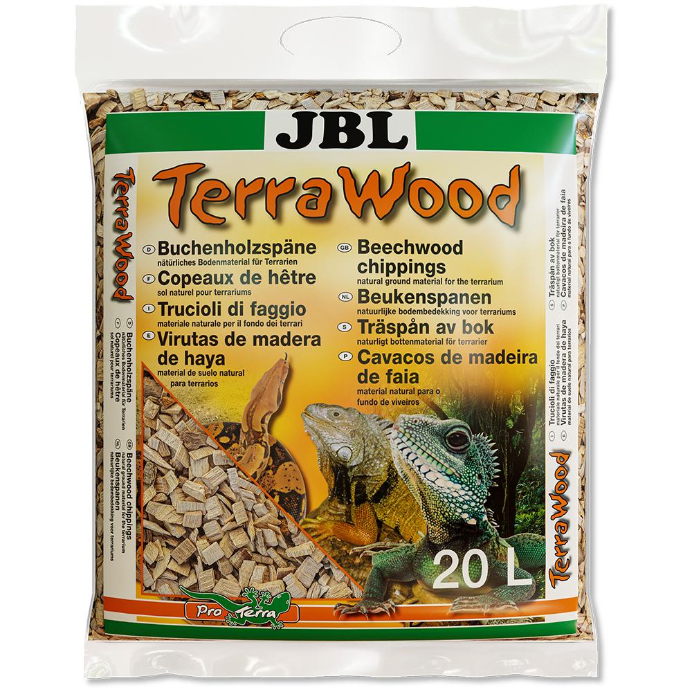 Субстрат JBL Terra Wood буковая щепа 20 л