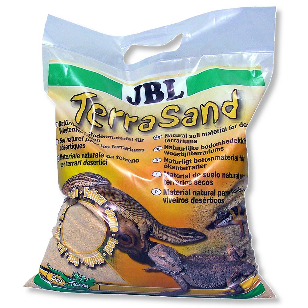Субстрат JBL Terra Sand 5 л желтый