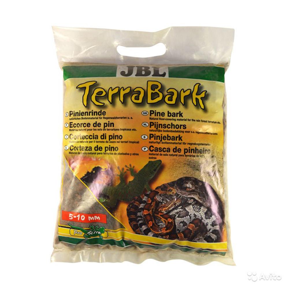 Субстрат донный JBL Terra Bark из коры пинии гранулы 5-10 мм 5 л