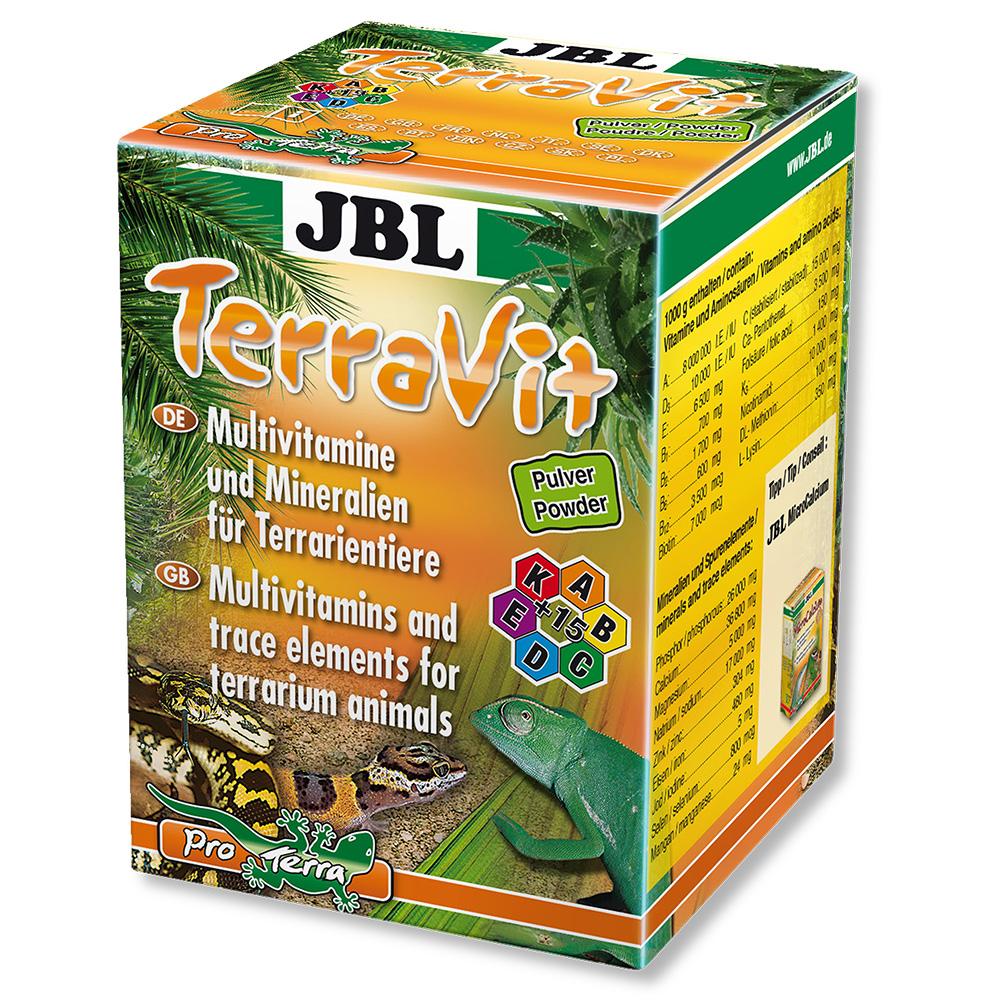 Препарат JBL Terra Vit Pulver мультивитаминный в порошке