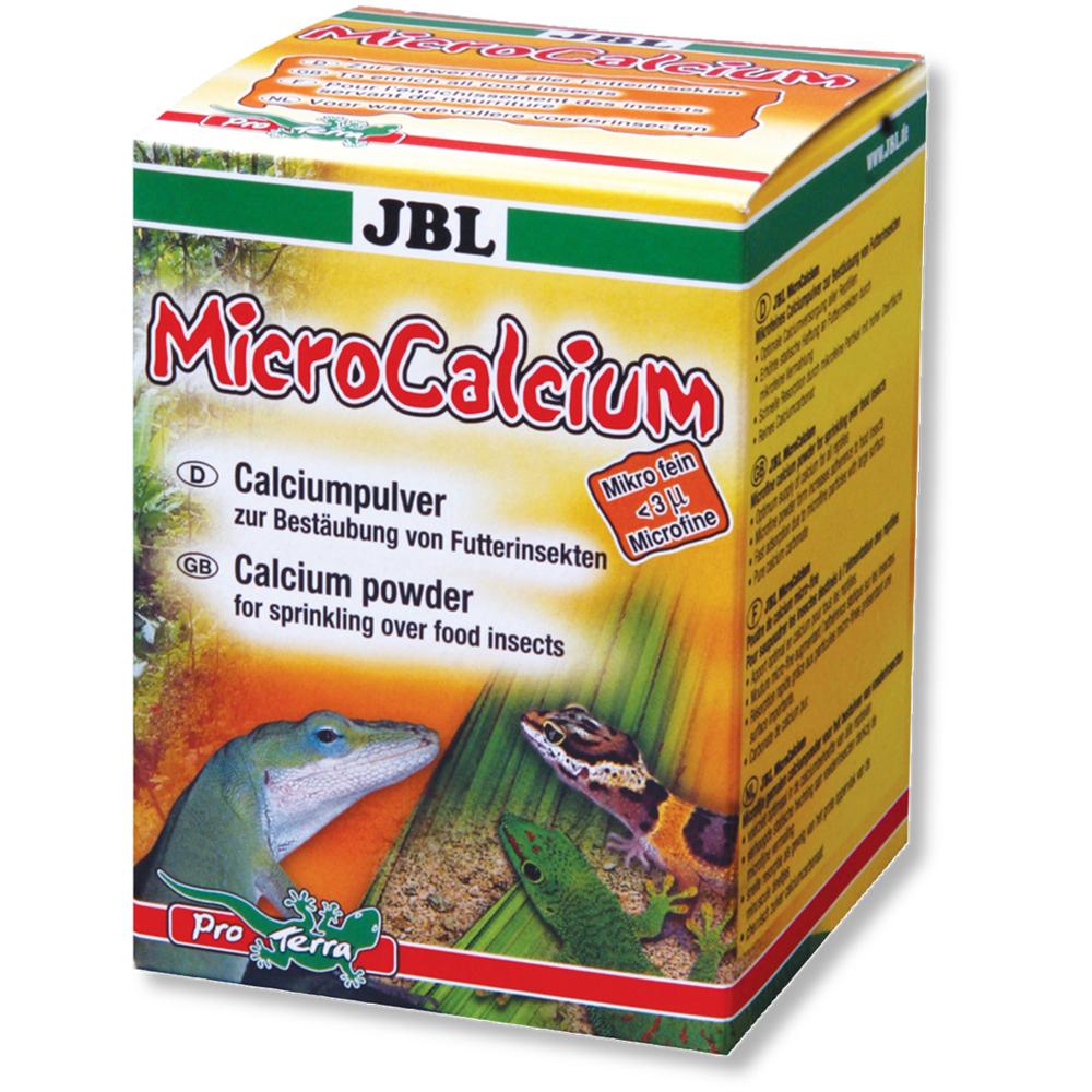 Препарат JBL MicroCalcium кальций в порошке для опыления кормовых насекомых