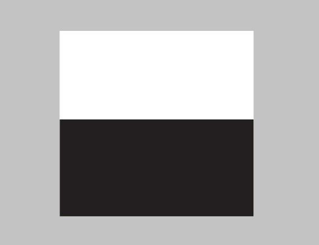 Фон JUWEL №3 Чёрный/Белый (L) 100*50см