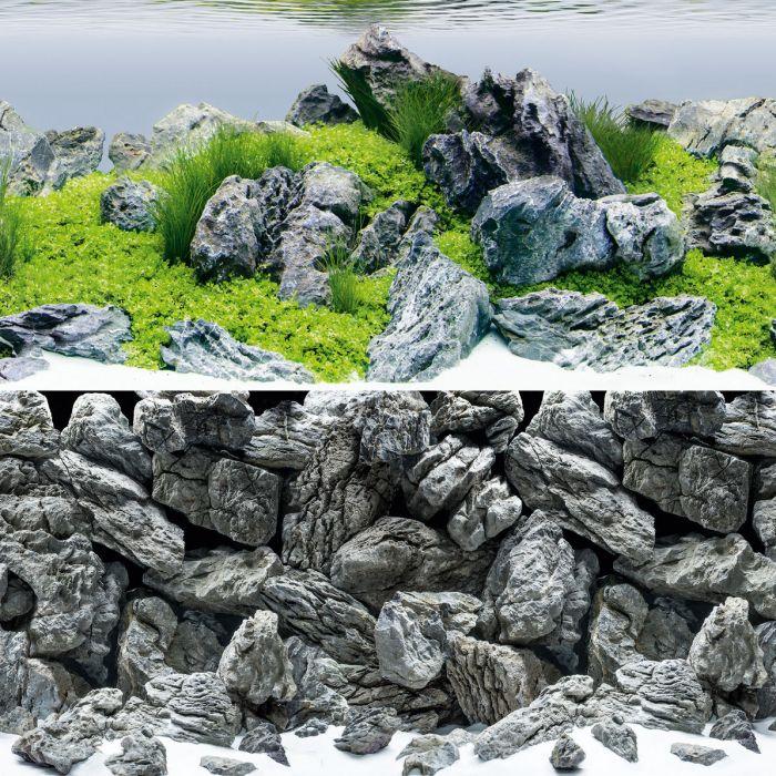 Фон JUWEL №4 Акваскейп/Камни (XL) 150*60см