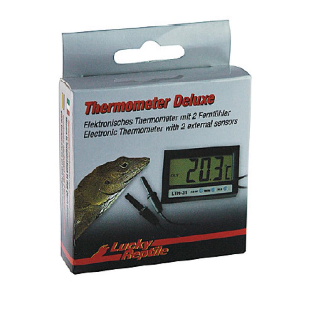 Термометр Lucky Reptile Deluxe цифровой c двумя внешними сенсорами
