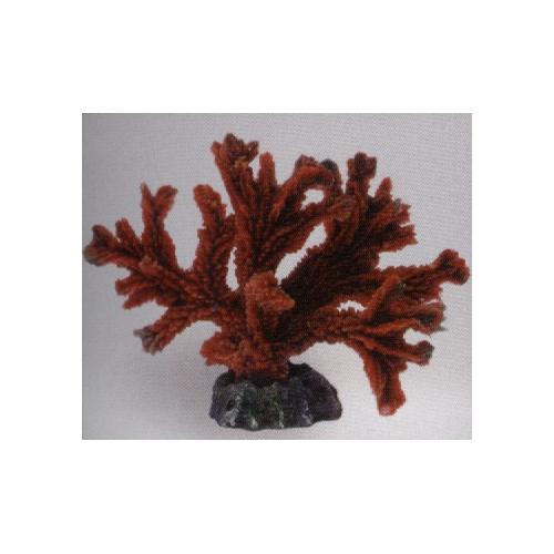 Коралл пластиковый красный 17х9х13см
