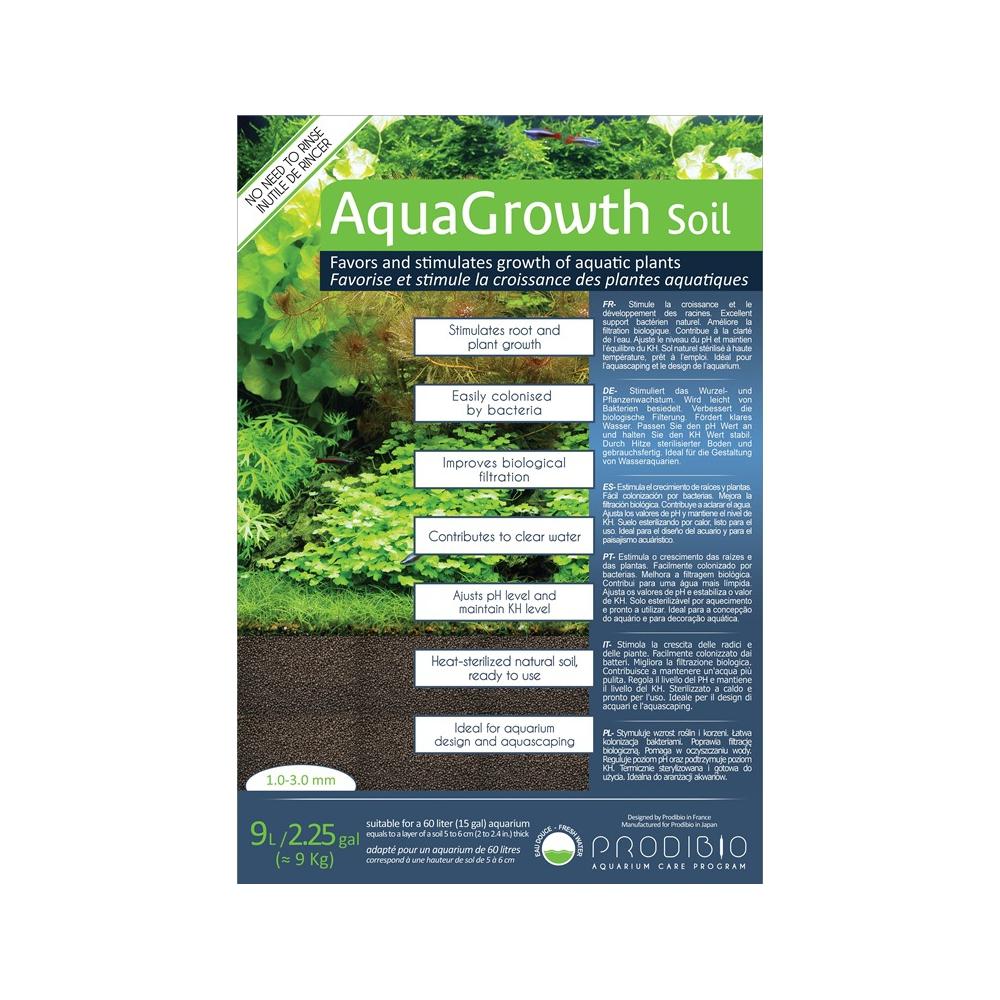 Грунт Prodibio AquaGrowth 1-3 мм 9 л