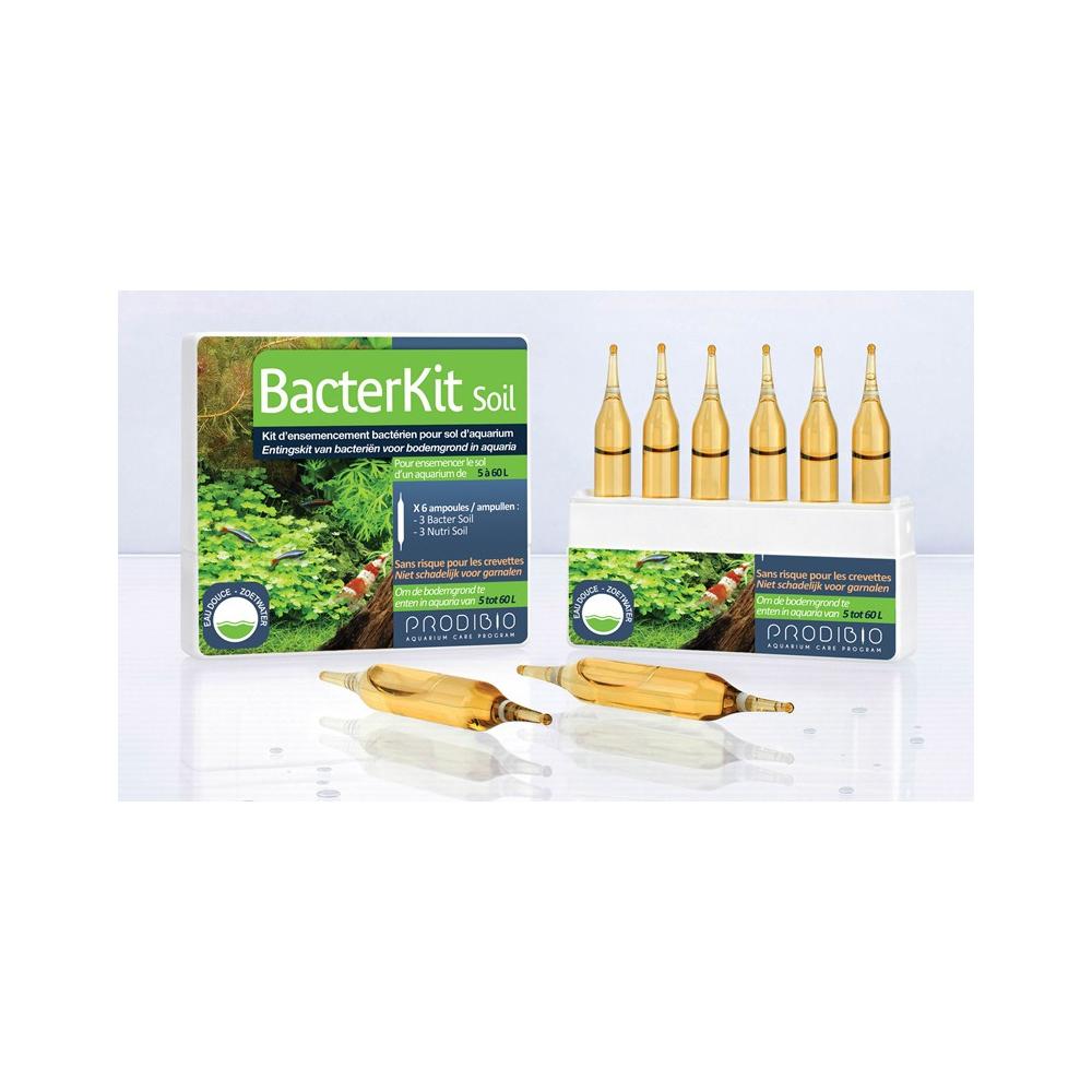 Кондиционер Prodibio BacterKit Soil гиперконцентрированный для грунта (6 шт)
