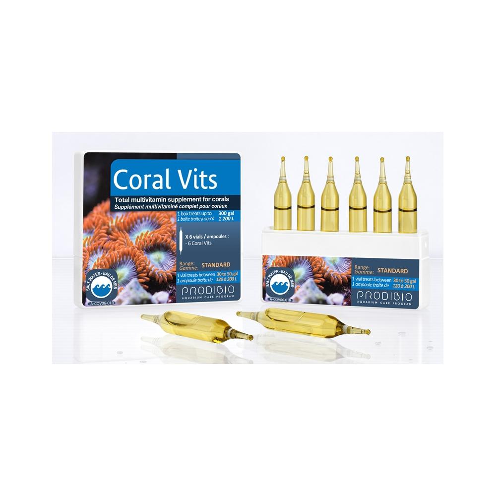 Препарат Prodibio Coral Vits жиро- и водорастворимые витамины для кораллов (6 шт)