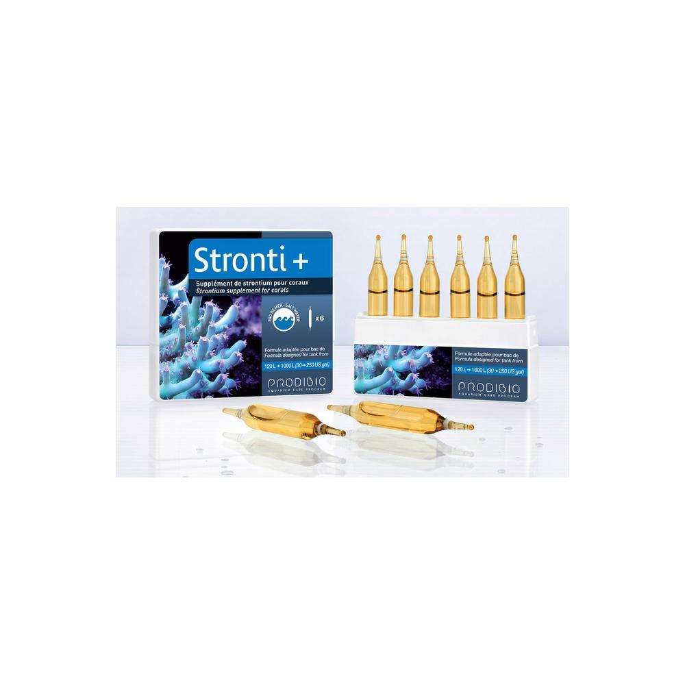 Добавка стронция STRONTI+ для рифового аквариума 6 ампул