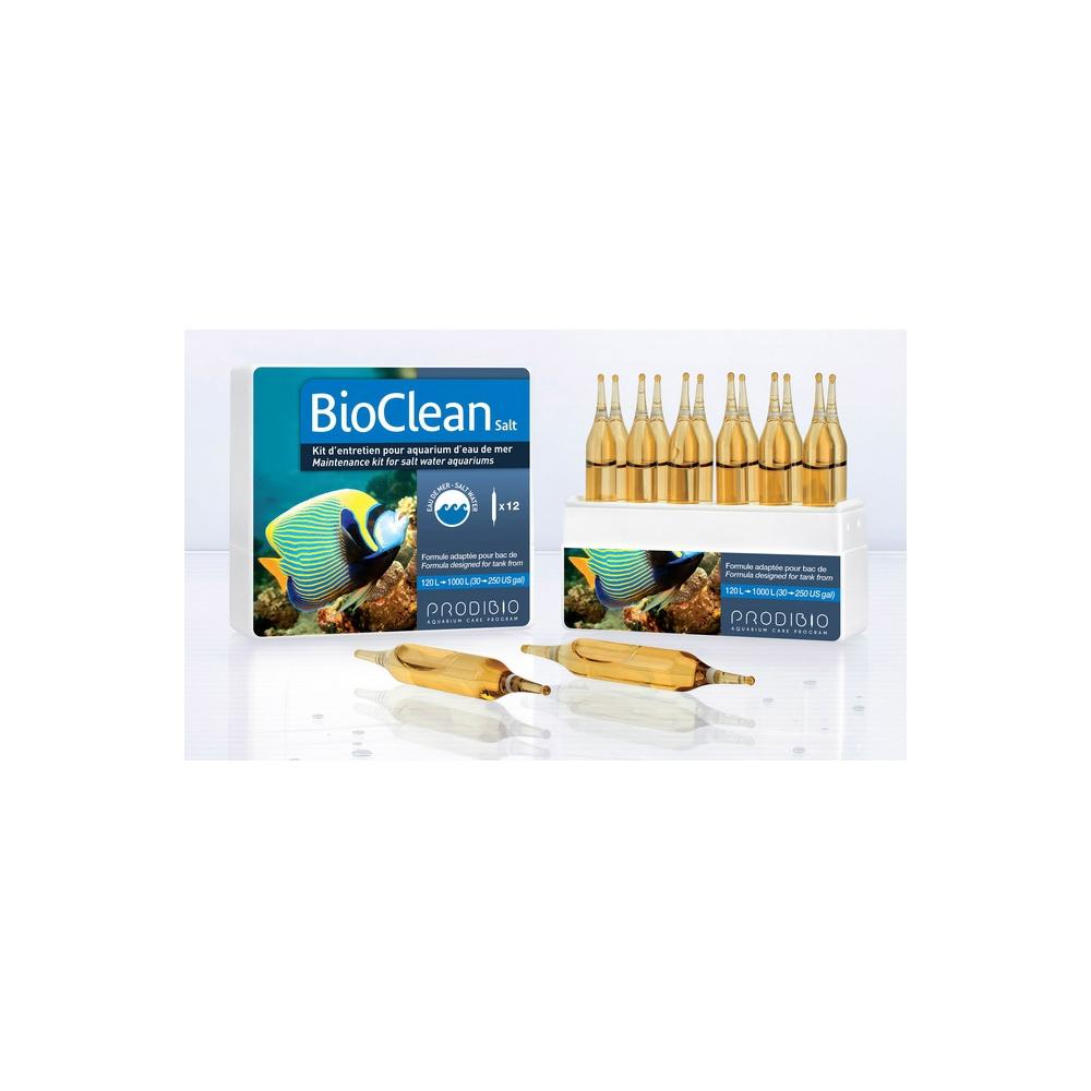 Набор препаратов для морской воды Prodibio BIO CLEAN+ 12 ампул