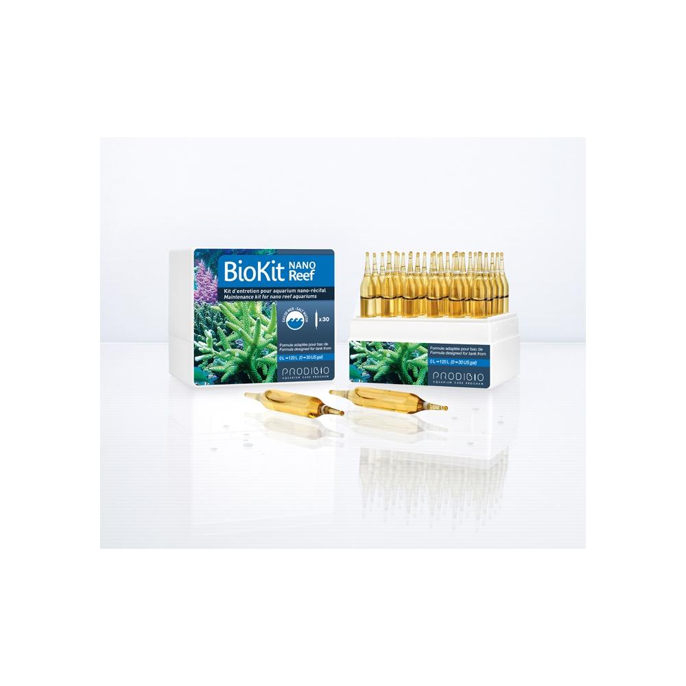 Набор препаратов Prodibio Bio Kit Reef Nano (Biodigest + Bioptim + REEFBOOSTER + Iodi + Stronti)