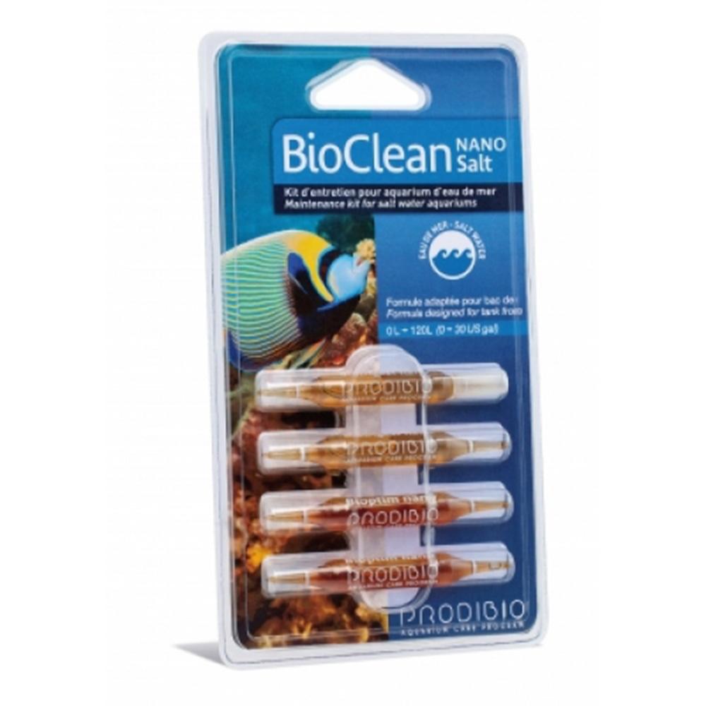 Набор препаратов Prodibio Bio Clean Salt Nano (Biodigest+Bioptim) 4 шт в блистере