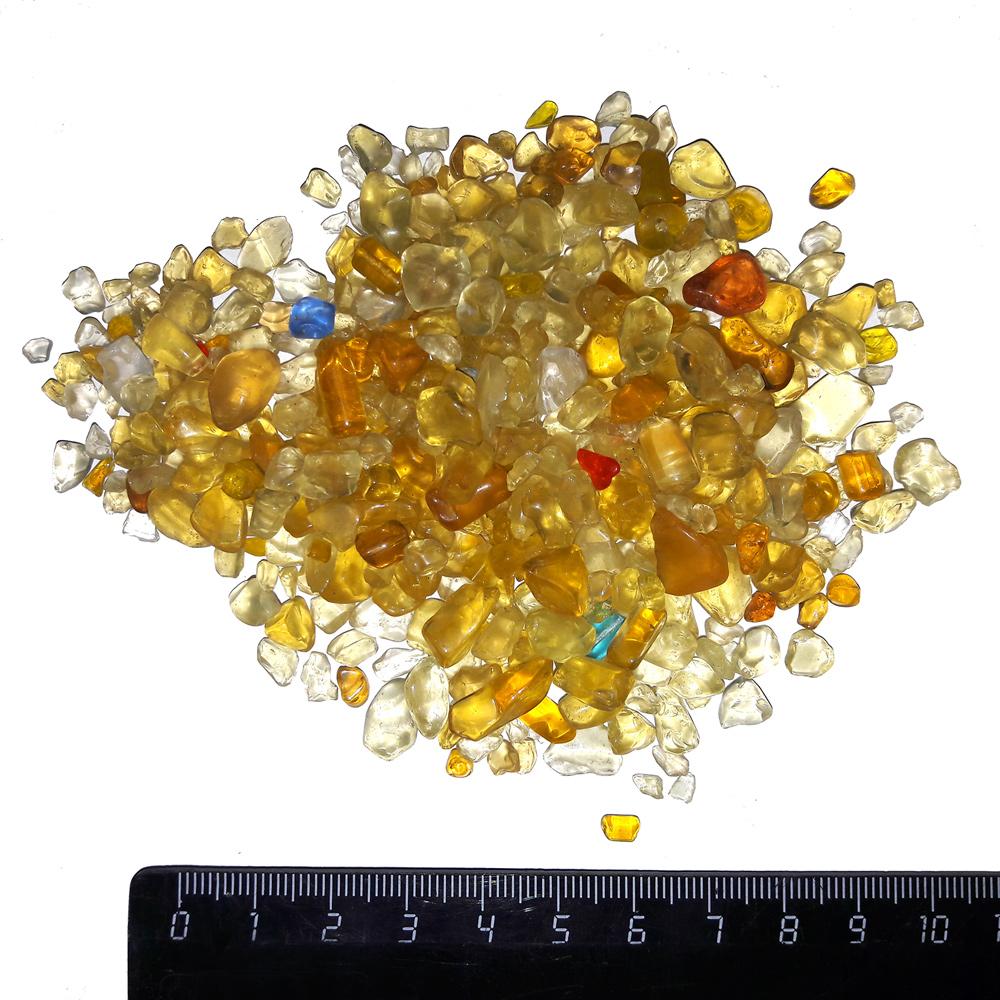 Грунт PRIME стеклянный желтый 1 кг 4-7 мм