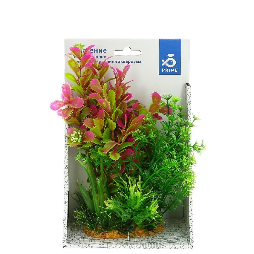 Композиция из пластиковых растений 20 см-1