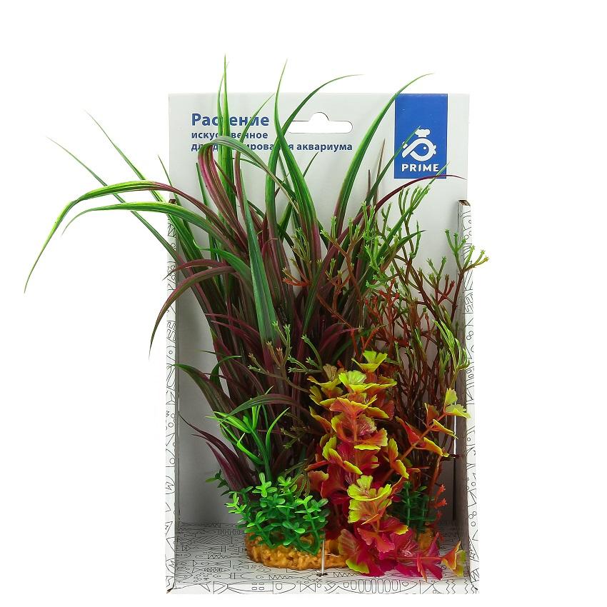 Композиция из пластиковых растений 20 см-2