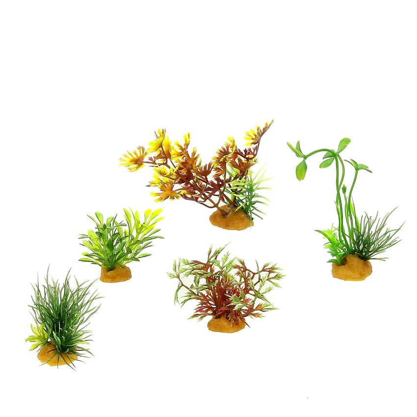 Набор пластиковых растений PRIME 5 шт 70610