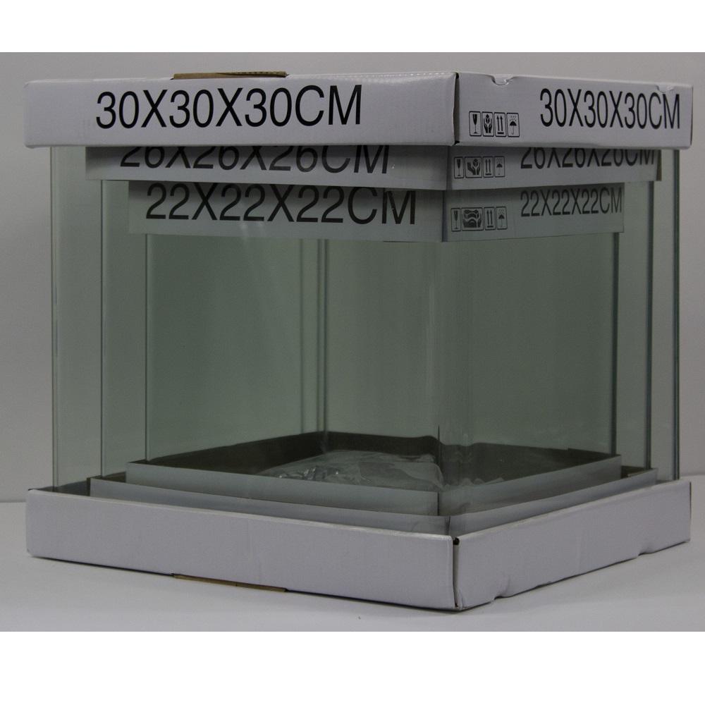Аквариум PRIME из набора 27 л 300*300*300мм