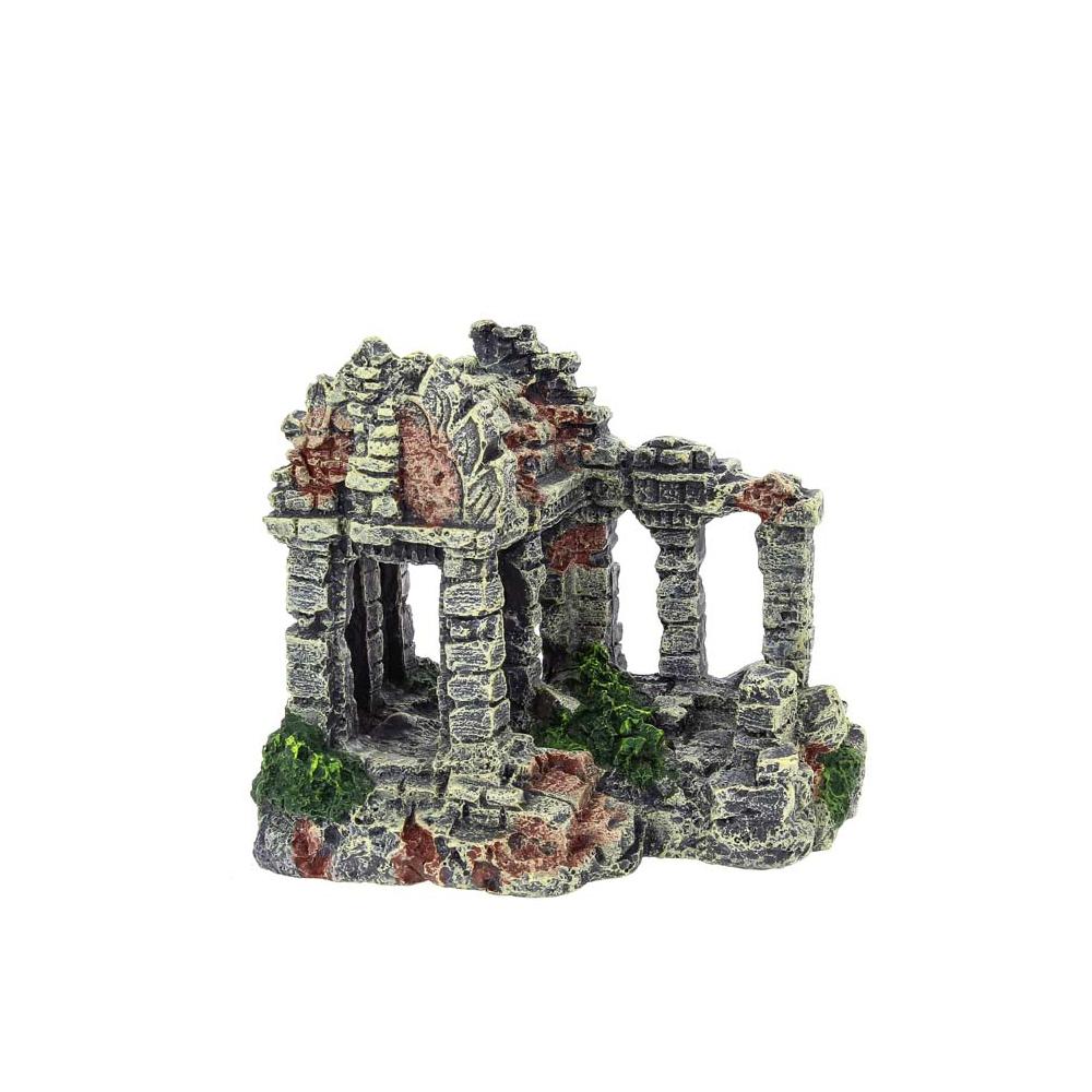 "Декорация пластиковая ""Древние руины"" 165х125х150мм"