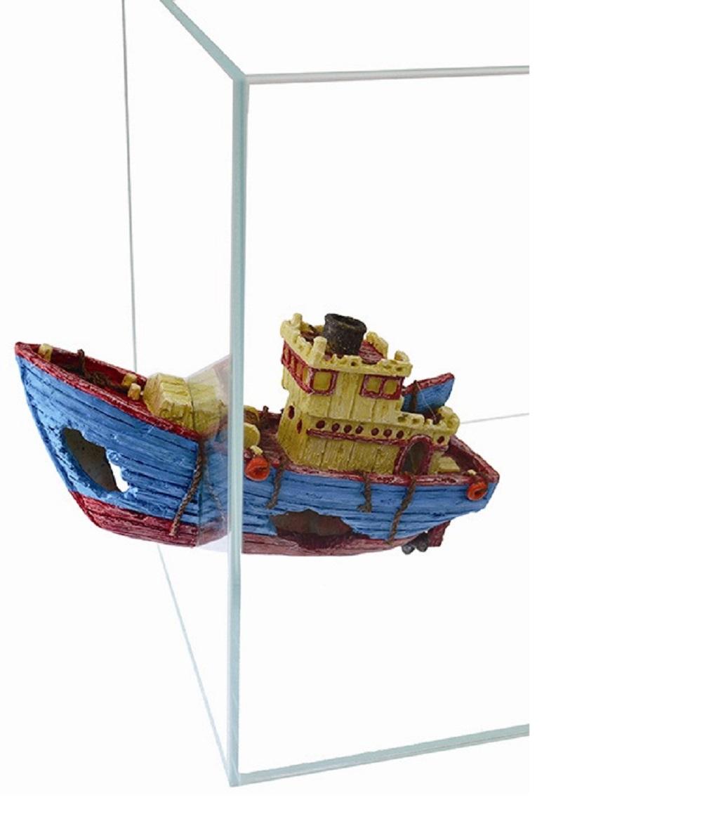Декорация пластиковая PRIME Буксир на магнитах 26.5x8.5x14см