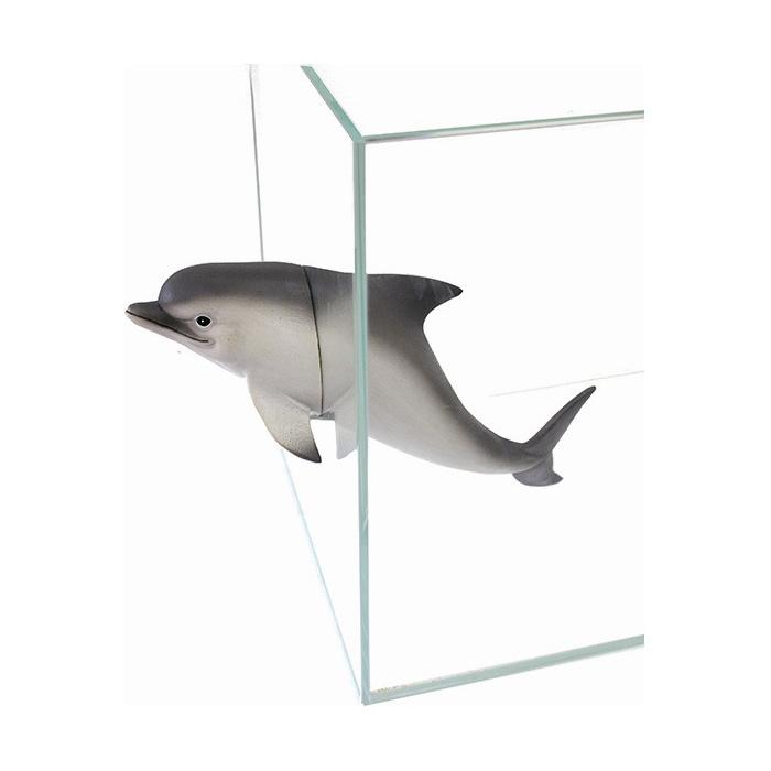 Декорация пластиковая PRIME Дельфин на магнитах 34.5x7.5x12см