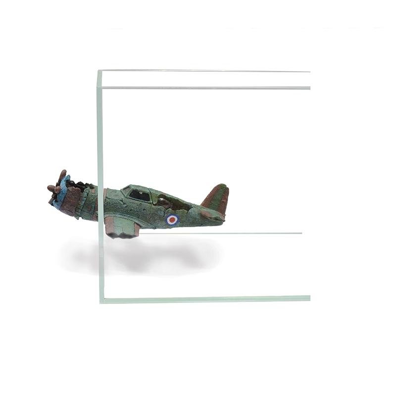 Декорация пластиковая PRIME Самолёт на магнитах 24*12*7 см