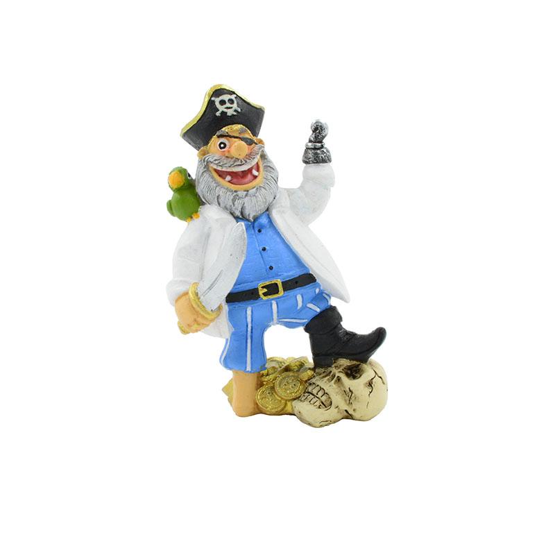 Декорация пластиковая PRIME Пират Капитан Крюк 7*5,5*10,5 см