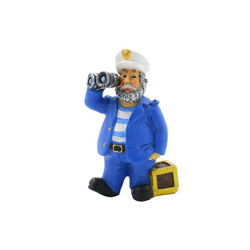 Декорация пластиковая PRIME Моряк Капитан Греков 4,5*3*7 см